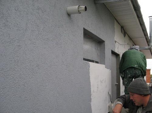 Гидроизоляция фасада штукатурка