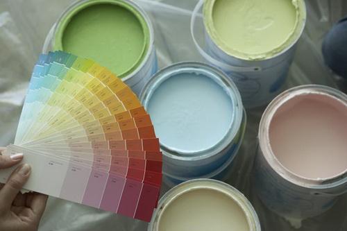 Покраска фасада дома фасадные краски