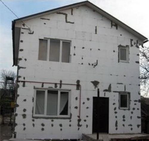 Утепление фасада дома 4