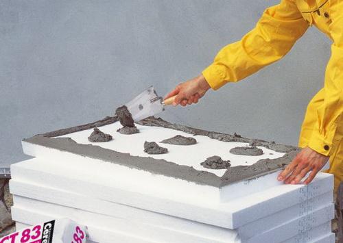 Утепление фасадов пенопластом ляпухи 1