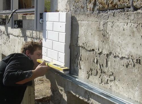 Утепление фасадов пенопластом стартовый профиль