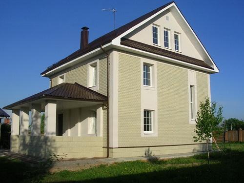 оформление фасада дома 1