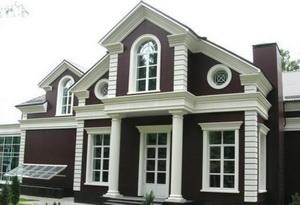 Архитектурные элементы фасадов А