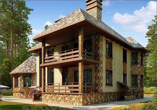 Архитектурные элементы фасадов камень