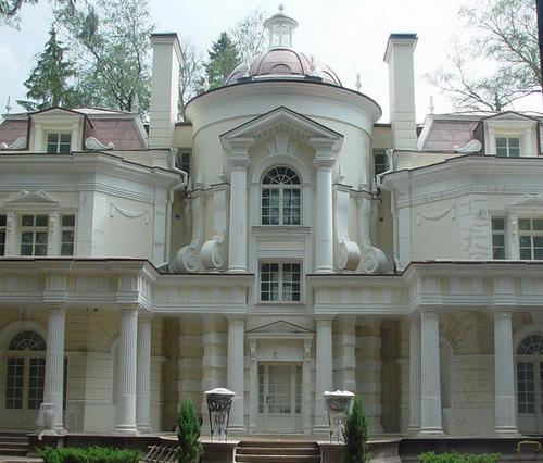 Архитектурные элементы фасадов лепнина