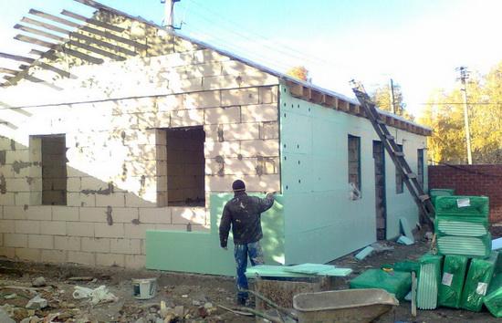 Мокрый фасад 3