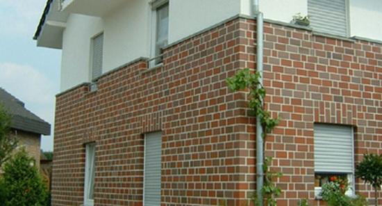 Облицовка фасада дома кирпичом 3