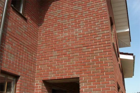 Облицовка фасада дома кирпичом 6