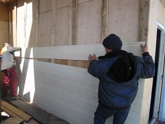 Отделка фасада деревянного дома 5