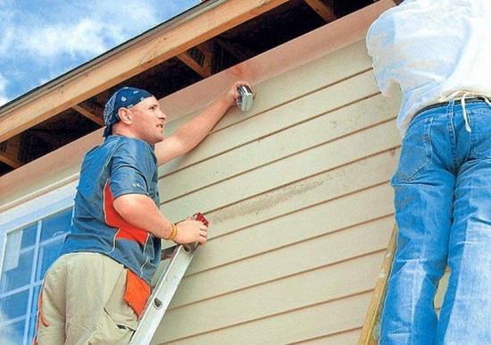 Отделка фасада деревянного дома 6