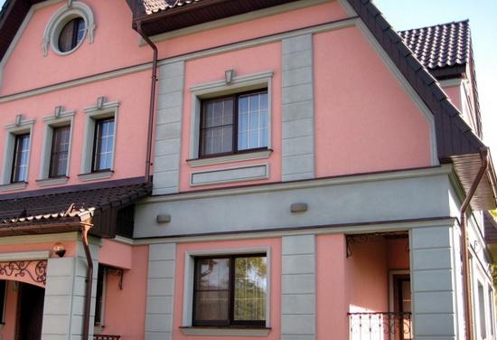 Утепление и отделка кирпичного дома мокрый фасад 2