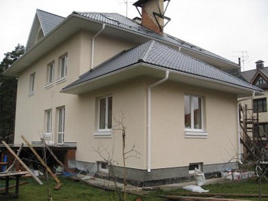 Утепление и отделка кирпичного дома мокрый фасад