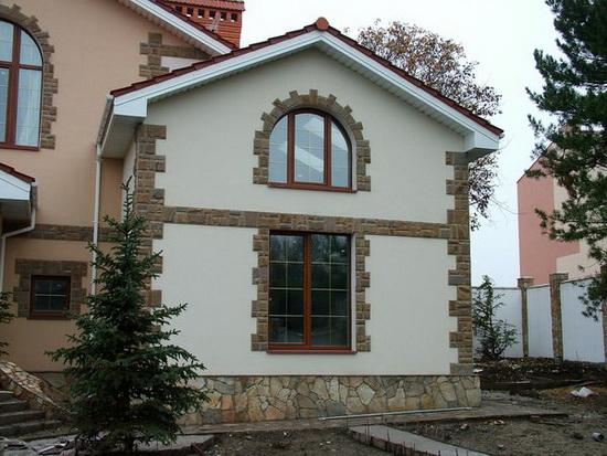 Цвета фасадов домов 1