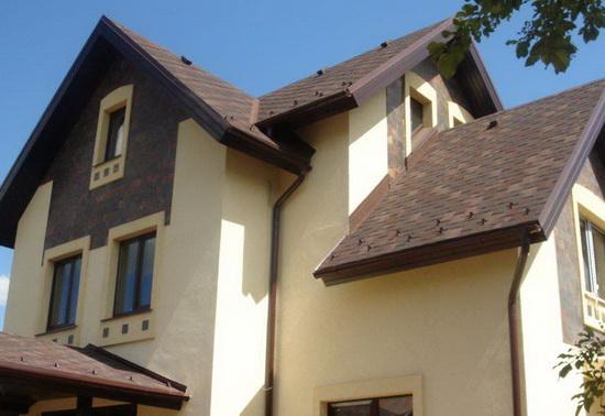 Цвета фасадов домов 3