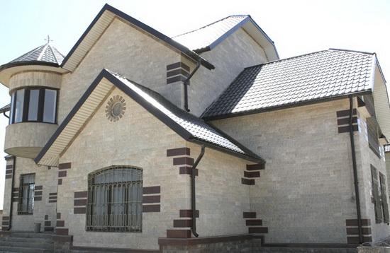 Цвета фасадов домов 4