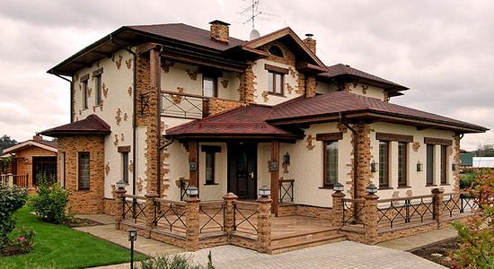 Цвета фасадов домов 5