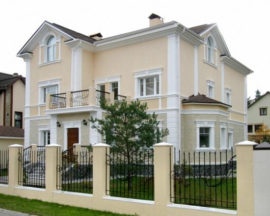 Цвета фасадов домов 7