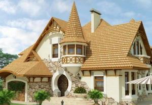 Цвета фасадов домов А