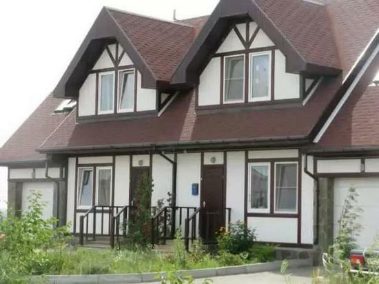 Фасад дома в стиле немецком