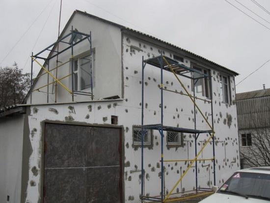 Ремонт фасада частного дома 5