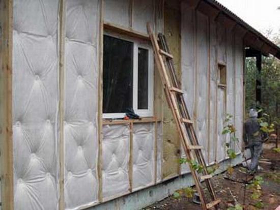 Утепление дома из бруса снаружи 5