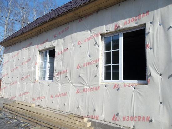Утепление стен снаружи кирпичного дома 2