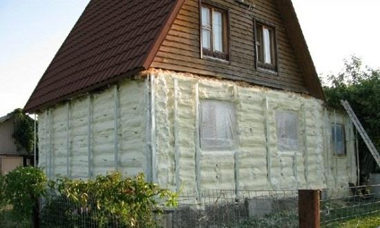 Самые экологичные утеплители для деревянного дома 5