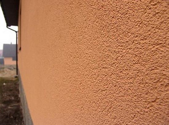 Декор наружных стен с помощью фактурных фасадных красок 5