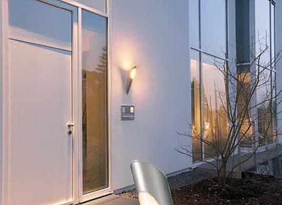 Как использовать фасадные светильники для декора фасада 2