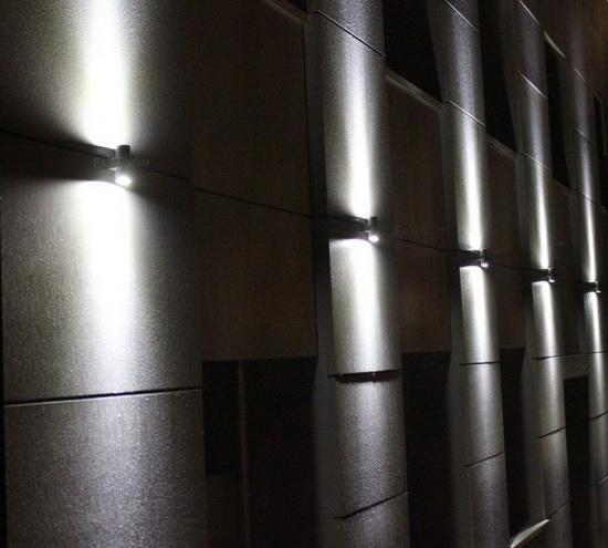 Как использовать фасадные светильники для декора фасада 4