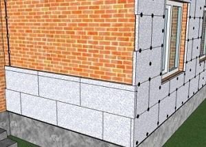Правильный монтаж пенополистирола на внешние стены 1