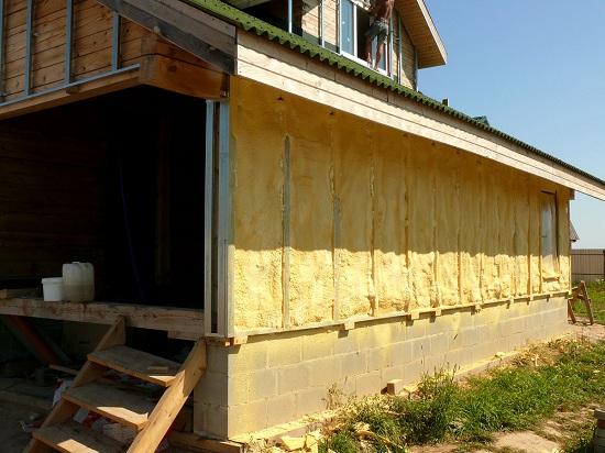 Нестандартное утепление деревянного дома 2