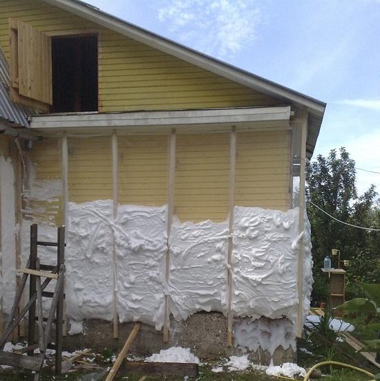 Нестандартное утепление деревянного дома 3