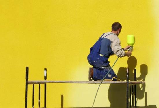 Расход материалов на окраску и штукатурку фасада 4
