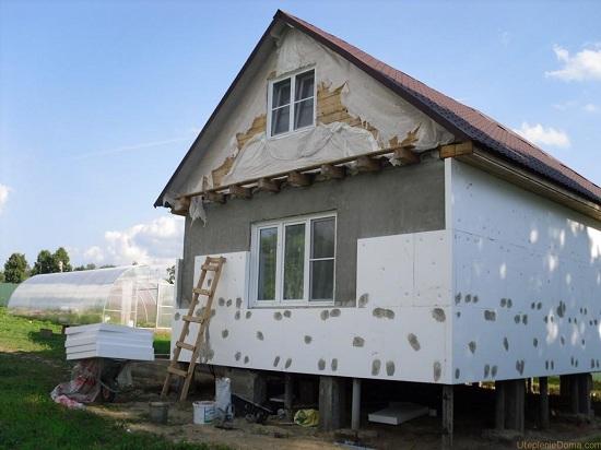 Как утеплять и отделывать деревянный дом снаружи 5