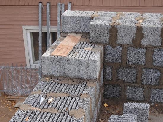 Утепление дома из керамзитобетонных блоков снаружи 2