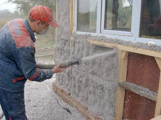 Утепление каркасного дома снаружи экологичными утеплителями 4