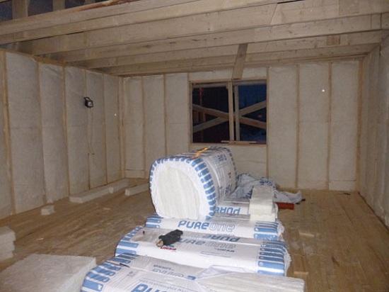 Утепление веранды деревянного дома изнутри 3