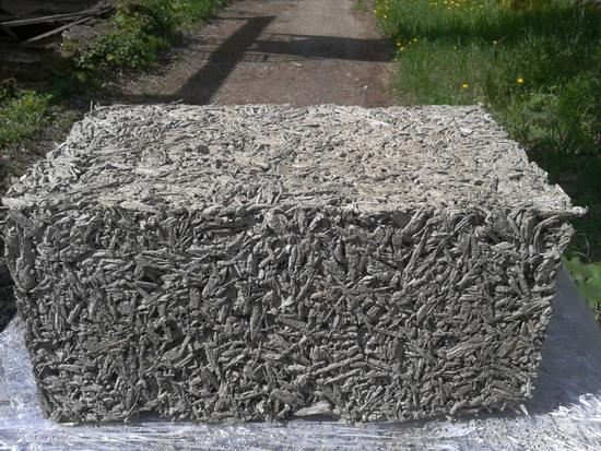 Арболит - состав, пропорции при самостоятельном изготовлении блоков 3