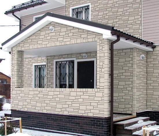 Цокольный сайдинг - монтаж своими руками на фасаде дома 4