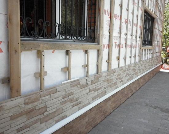 Цокольный сайдинг - монтаж своими руками на фасаде дома 5