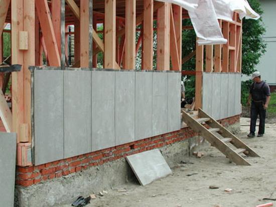 ЦСП плита - отзывы по применению в фасадах частных домов 4