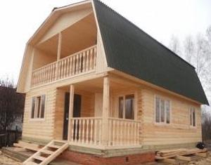 Калькулятор строительства дома из бруса - считаем брус на дом 1