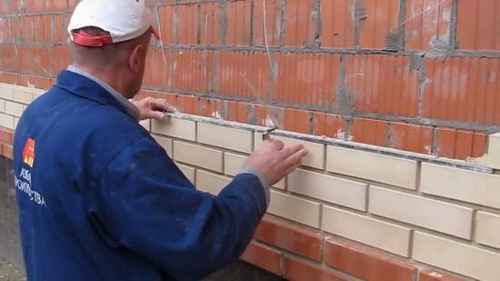 Как делается расшивка швов кладки из кирпича - мастер-класс 3