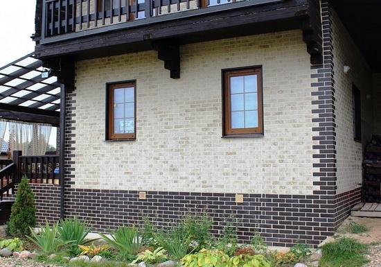 Клинкерные панели для фасада - обшиваем частный дом 2
