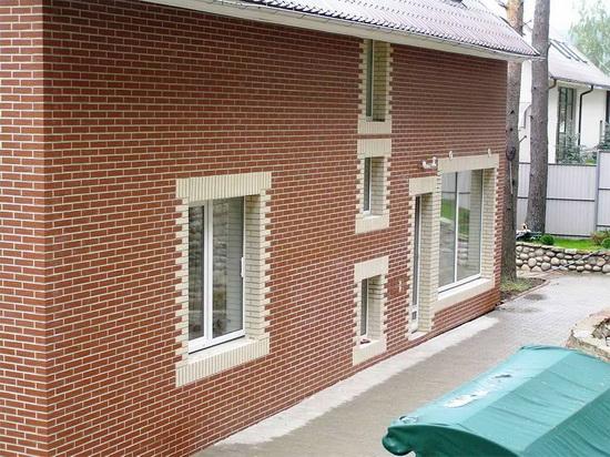 Клинкерные панели для фасада - обшиваем частный дом 3