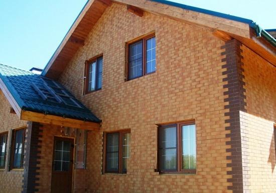 Клинкерные панели для фасада - обшиваем частный дом 5