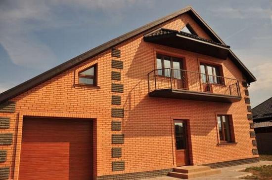 Количество кирпича в 1м3 кладки - считаем смету постройки кирпичного частного дома 3