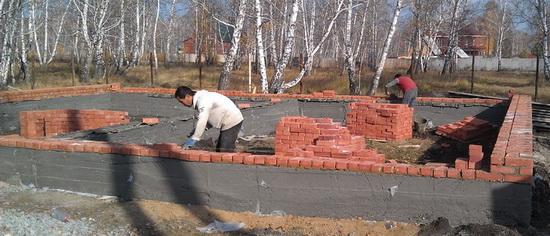 Количество кирпича в 1м3 кладки - считаем смету постройки кирпичного частного дома 5