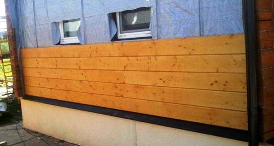 Как крепить вагонку к стене дома из дерева, кирпича или блоков 5